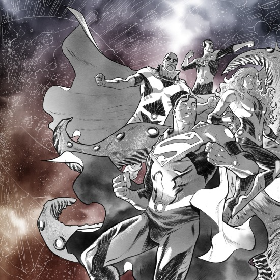 no justice team mystery cover #1